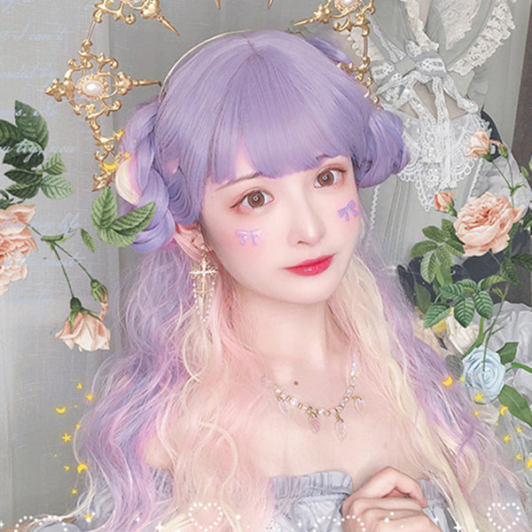 Lolita candy mixed color wig YV43539