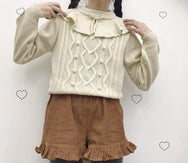 Cute bow sweater YV40966