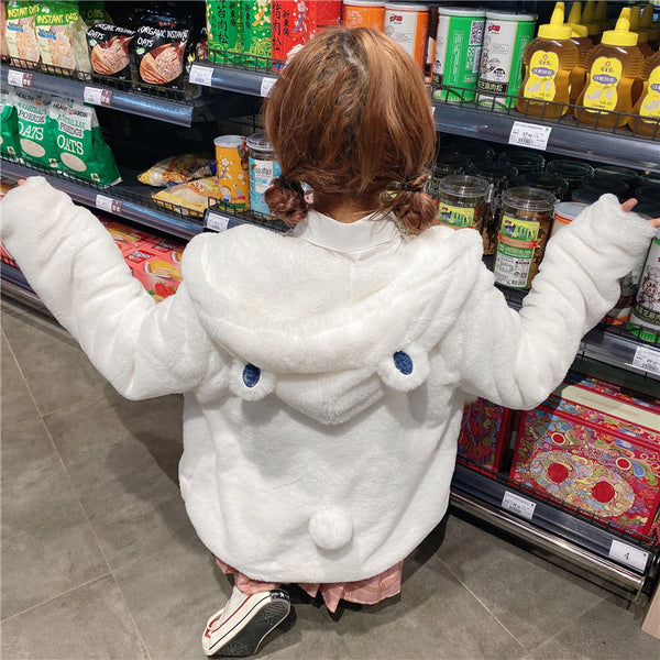 Cute bear ears hooded jacket YV43590