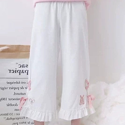 Japanese Kawaii Bunny Casual Pants YV90049