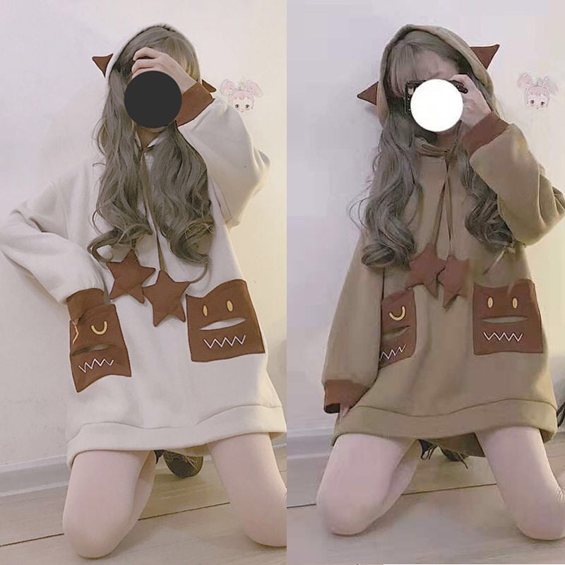Cute Japanese Devil Sweater yv42672