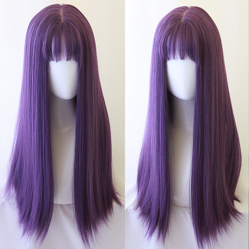 lolita long straight wig yv42776