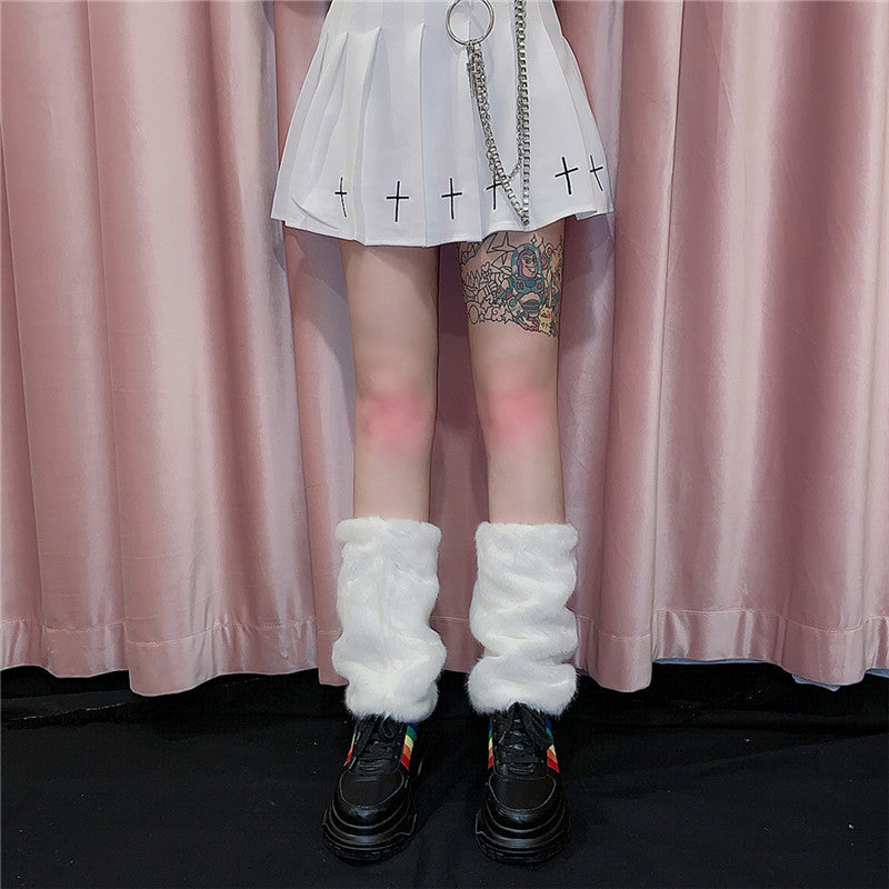 Harajuku plush socks YV43628