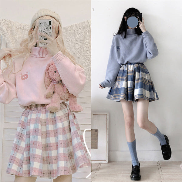 Cute Plaid Skirt YV43473