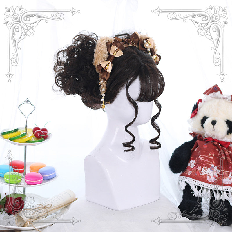 Lolita retro curly wig yv42622