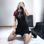 Sexy dark punk dress yv42906
