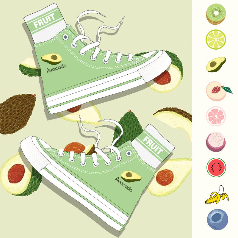 Fruit canvas shoes YV42965