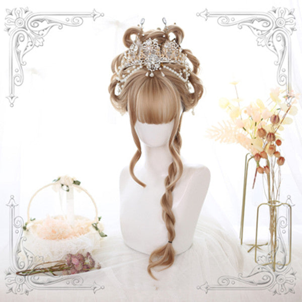 Horn air bangs wig yv42469