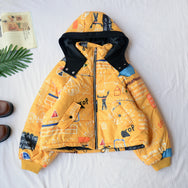 Japanese children's print jacket YV40775