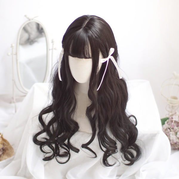 Lolita long roll wig YV40951