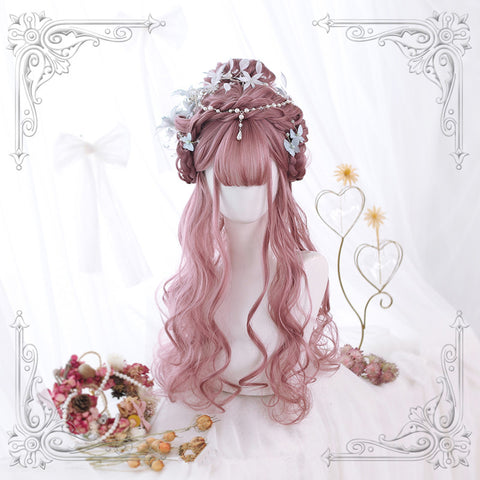 Cherry blossom powder lolita wig YV42437