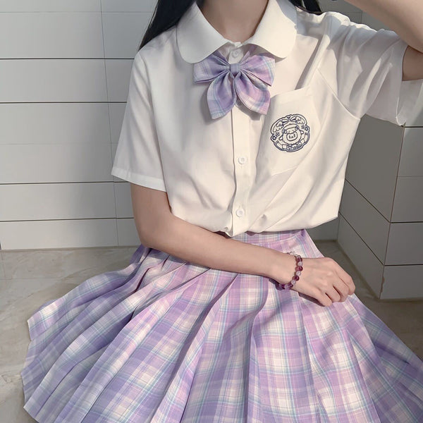Japanese college style JK uniform suit yv43258