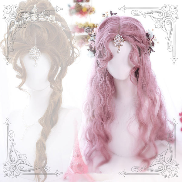 Youvimi daily  Lolita long curly wig YV42404