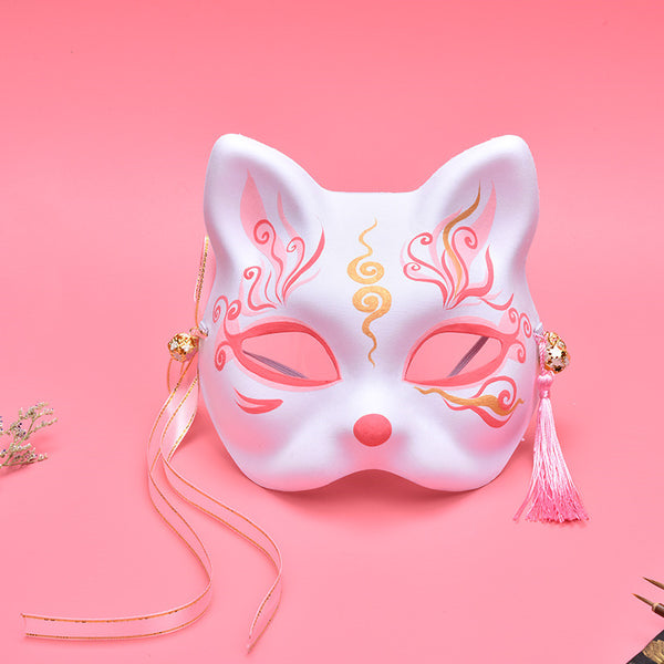 Hand painted fox mask YV43694
