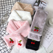 Cute cherry scarf YV40961