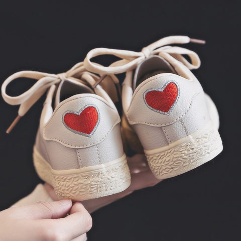 Chic love white shoes YV41073