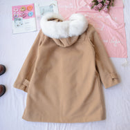 Cute woolen coat YV40957