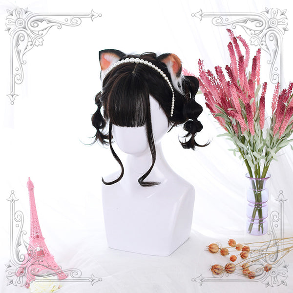 Daily Lolita micro-volume short wig YV42514
