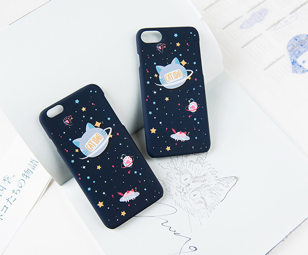 CuteKawaii Star Cat Iphone Phone Case  YV8031