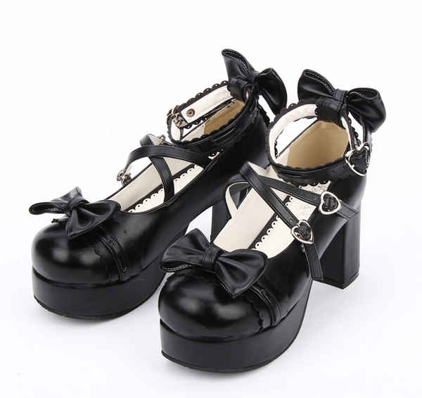 Lolita  Harajuku shoes  boots YV7029