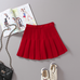 High waist college wind tennis pleated skirt YV224
