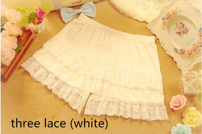 Girly Lace safety pants shorts YV2007