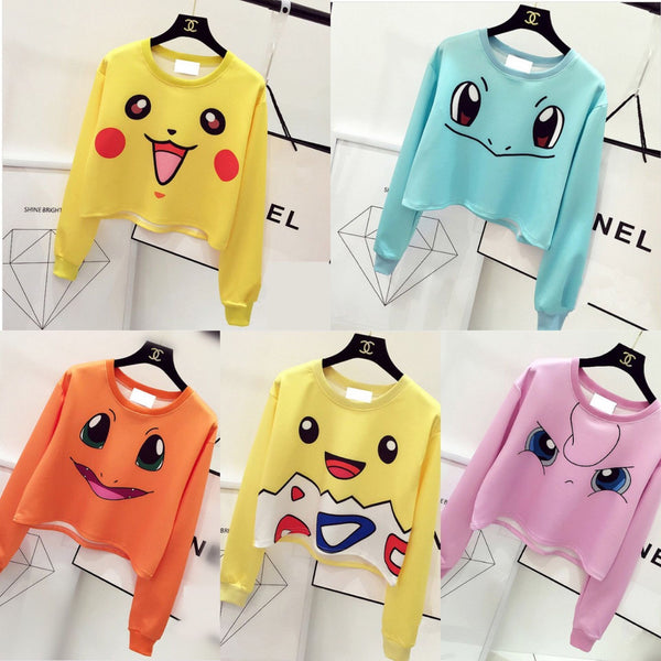 Kawaii Pokemon Jumper 5 color YV2031