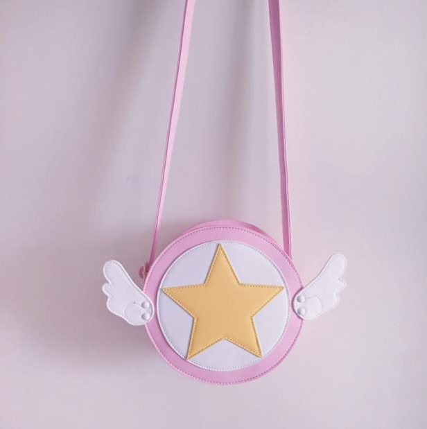 Variety Sakura Magic Card Girl Sakura Cute Shoulder Bag YV2069