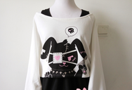 Cherry And Rabbit Two Sets Sweater Dress YV2094