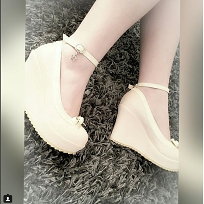 REVIEW FOR SWEET BOW PRINCESS WEDGES SHOES YV2163
