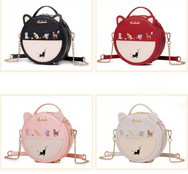 Kawaii Cat Round Bag YV441