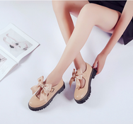 Japanese cute bow shoes YV451