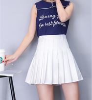 High waist A-line skirt YV463