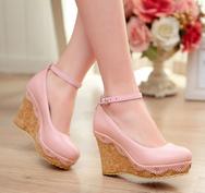 Lace  Lolita high heels YV476