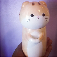 Review for kawaii cat ceramic tea/coffee mug/cup yv194