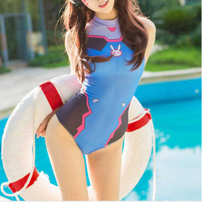 Cute Anime One Piece Swimsuit Yv
