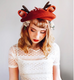 REVIEW FOR Cute Lovely Antlers Woollen Beret YV2111