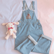 Cute Bear Cowboy Bib YV40038