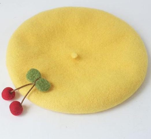 Cute Cherry Beret Hat YV40052