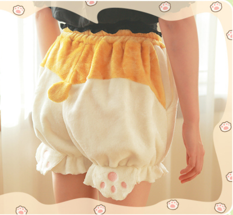 Japanese Cartoon Corgi Ass Shorts YV40069