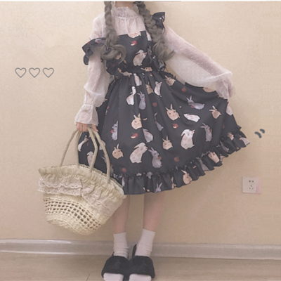 Cute rabbit harness dress YV40075