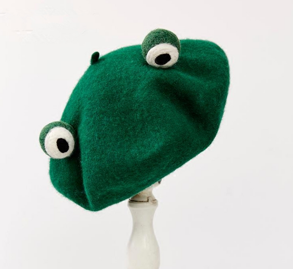 Cute funny frog beret YV40104