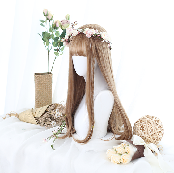 Harajuku Air Bangs Wig YV40110