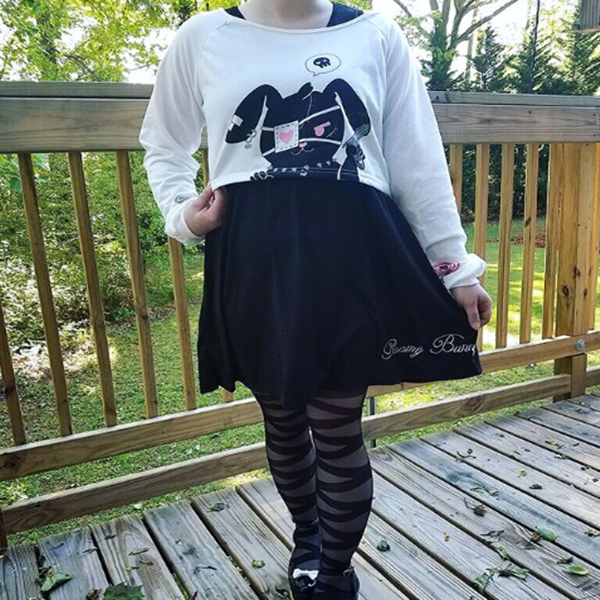 REVIEW FOR CHERRY AND RABBIT TWO SETS SWEATER DRESS YV2094