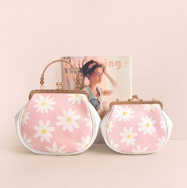 Daisy print shoulder bag YV40131