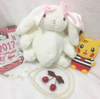 Bow cute rabbit diagonal package YV40134