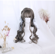 Lolita partial long curly hair wig YV40156