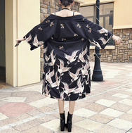 Long tie kimono sun protection clothing YV40179