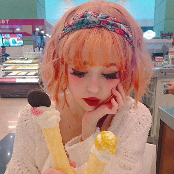 Review For Harajuku Air Bangs Wig YV40107