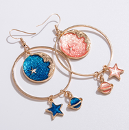 Cute dream star earrings YV40227